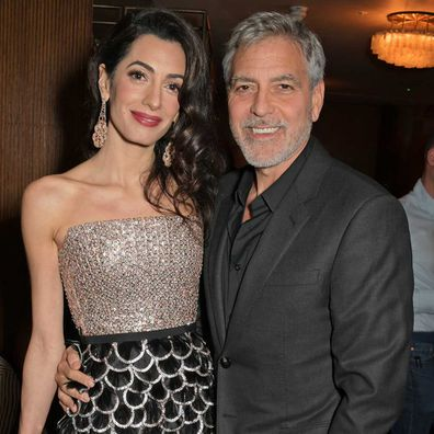 Amal Clooney and George Clooney.
