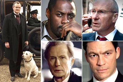 Hugh Bonneville &mdash <i>Downton Abbey</i><br/>Idris Elba &mdash <i>Luther</i><br/>William Hurt &mdash <i>Too Big To Fail</i><br/>Bill Nighy &mdash <i>Page Eight</i><br/>Dominic West &mdash <i>The Hour</i>