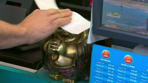 The winning ticket was purchased in Brunswick.  (9NEWS)