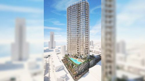 The proposed development is a 30-storey high rise.