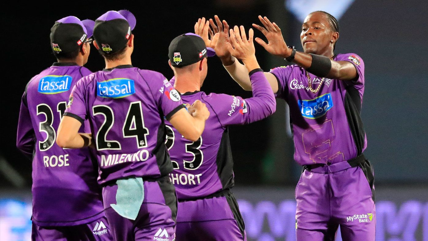 Jofra Archer helps Hobart Hurricanes clinch home Big Bash semi-final