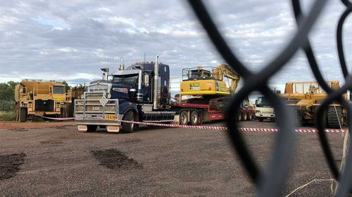 A man has been killed in a workplace accident in Darwin.