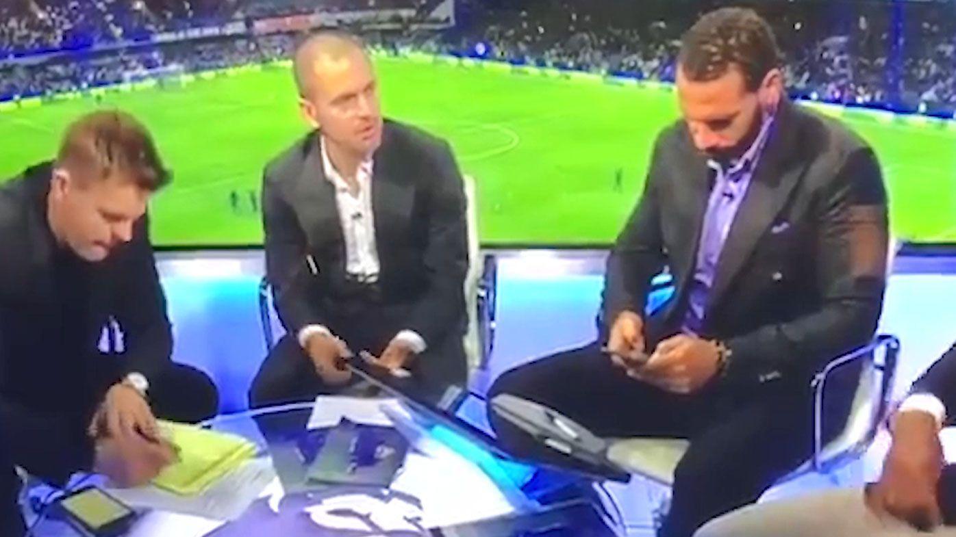 Rio Ferdinand slams Kyle Walker in freaky footage of off-air rant