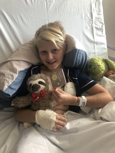 Estelle Hero4HeartKids surgery