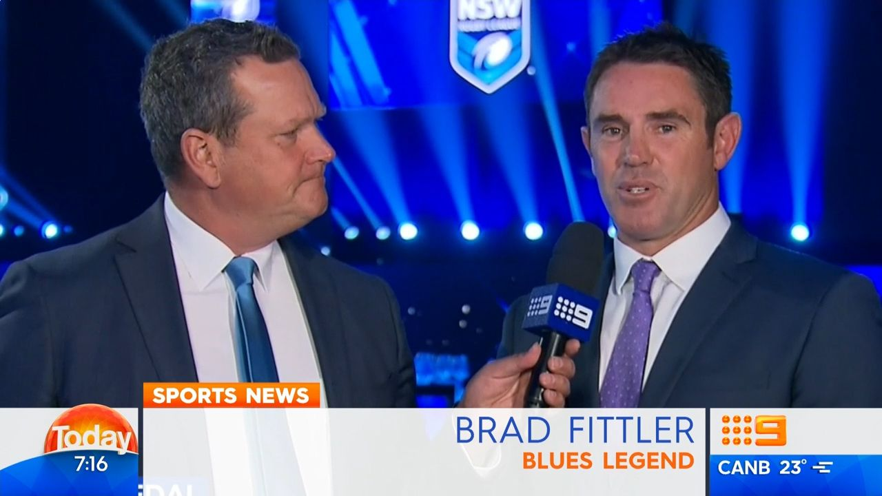 Fittler admits Blues job looks good
