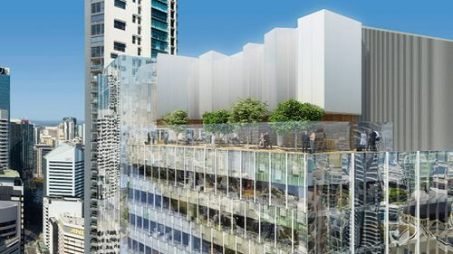The park will offer views of the CBD. (9NEWS)