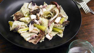 """<a href=""""http://kitchen.nine.com.au/2016/05/19/16/39/maltagliati-di-pane-con-calamari"""" target=""""_top"""">Maltagliati di pane con calamari </a>recipe"""