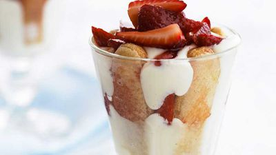 """Click for our <a href=""""http://kitchen.nine.com.au/2016/05/16/14/29/strawberry-trifle"""" target=""""_top"""">strawberry trifle</a> recipe"""