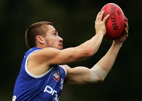 The 40-year-old played for North Melbourne. (Getty Images)