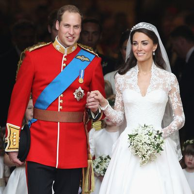 Prince William and Kate's royal wedding day