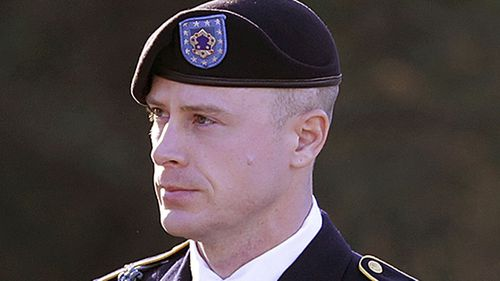 Army Sgt. Bowe Bergdahl arrives for a pretrial hearing at Fort Bragg, N.C in January 2016. Image: AP