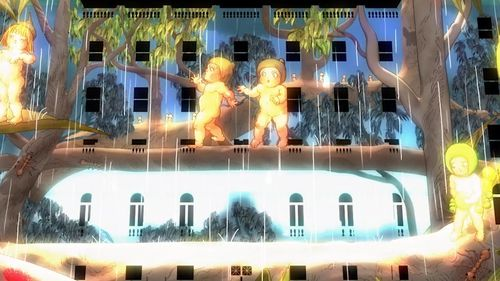 May Gibbs' beloved characters Snugglepot and Cuddlepie will be projected on Customs House (9NEWS)