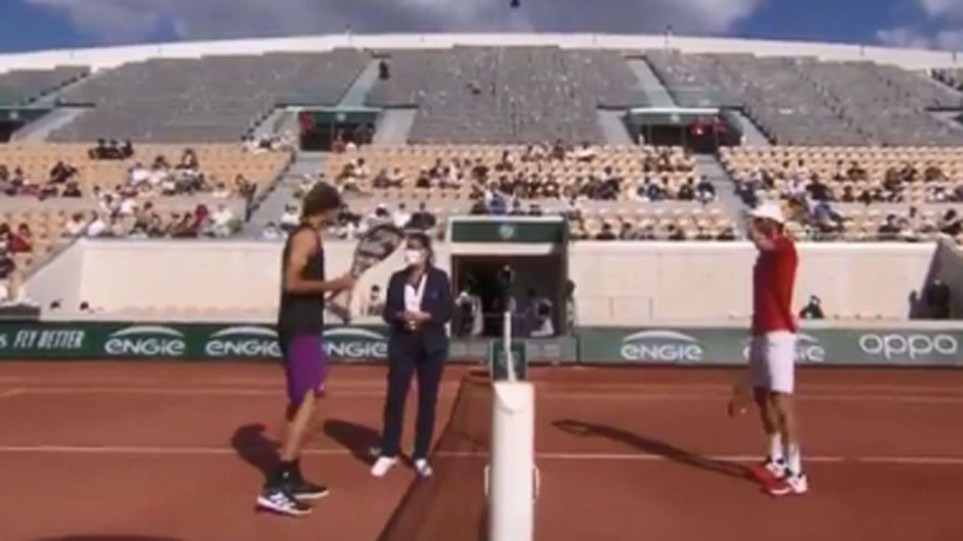 Alexander Zverev's 'graceless' Roland Garros behaviour has tennis world fired up