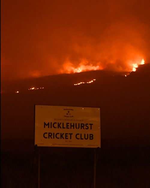 The British army has been put on standby as a wildlife in England continues to rage. Helicopters have been deployed to drop water on flames as high as 6m on Saddleworth Moor outside Manchester.
