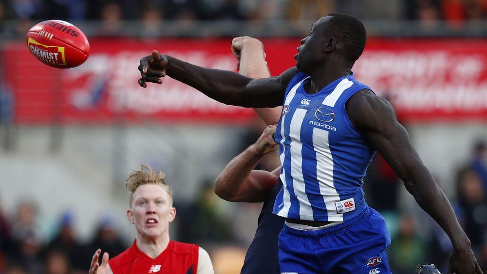 Roos' AFL streak over Demons continues