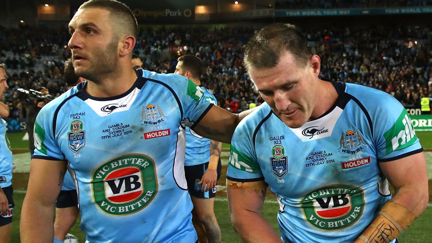 Why Robbie Farah belted Paul Gallen on backside after State of Origin farewell