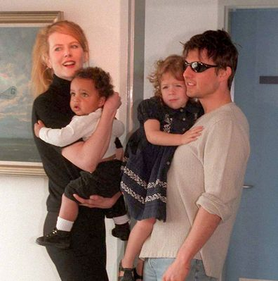 Nicole Kidman, Connor Cruise, Bella Cruise and Tom Cruise