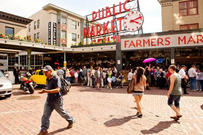 15. Pike Place in Seattle, Washington