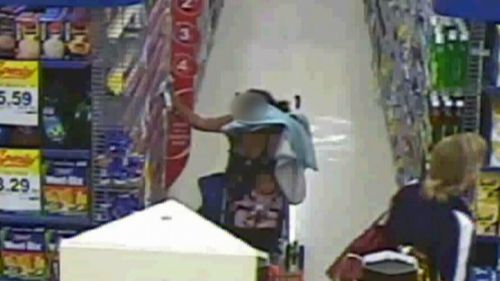 A supermarket can lose $2000 a day to shoplifters, Anna says.