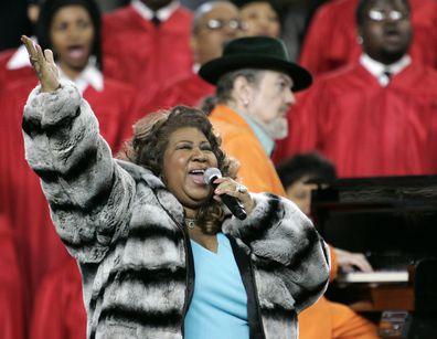 Aretha Franklin and Dr. John