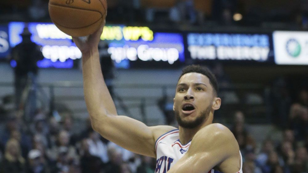 Career-high points for Simmons in NBA win