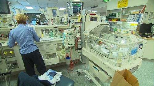 $17 million upgrade for Flinders Medical Centre neo-natal ward. Picture: 9NEWS