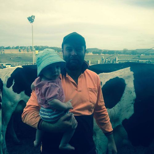 Mr Gamble, who rises at 2.30am daily to start work, estimates he's spent $400,000 on feed, and is losing about $3000 a day because of the drought.