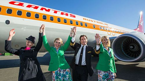 John Travolta launched the new 'retro roo'. (Supplied)