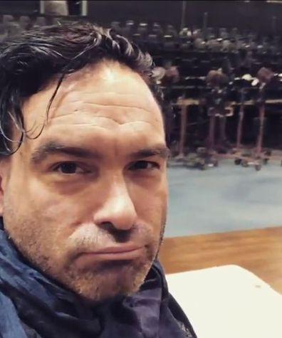 Johnny Galecki from The Big Bang Theory