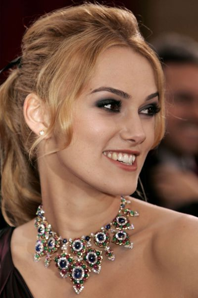 The smoky eye is a red carpet favourite. Keira Knightley wore it well in 2006.