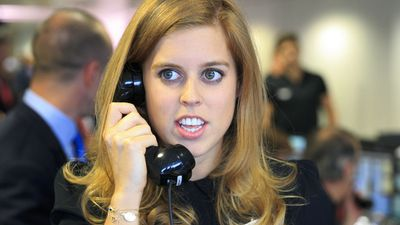 Princess Beatrice attendsBGC Global Charity Day, September 2014