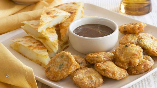 Potato and onion chapatti