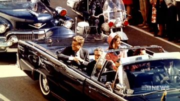 Trump authorises release of 'top-secret' JFK files