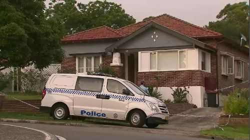 A 92-year-old woman has been stabbed inside her home.