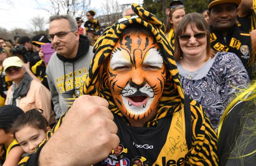 The Tigers are hoping to end their premiership drought. (AAP)