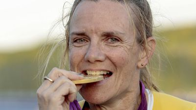 <b>Carol Cooke, Victoria finalist</b><br> Paralympian who won a gold medal at the age of 51. A swimming champion in her youth, her sporting dreams were interrupted after being diagnosed with multiple sclerosis in 1998. (Image: AAP)