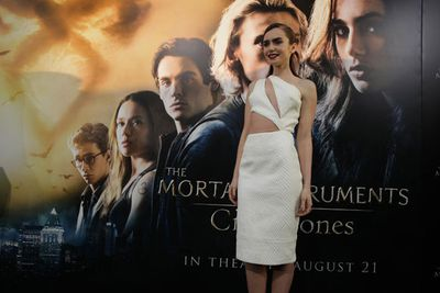 Check out these pics from the LA premiere of new action-adventure film The Mortal Instruments: The City of Bones.