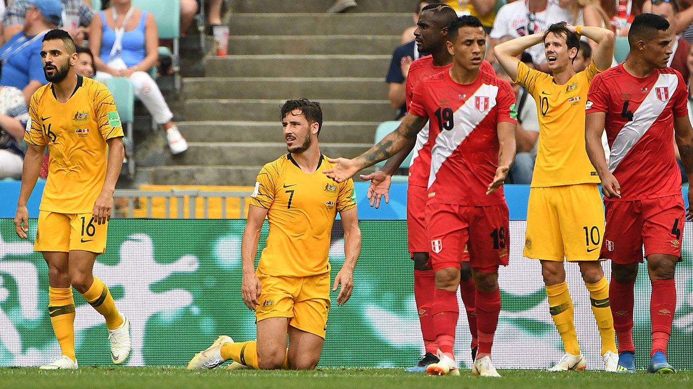 Socceroos Peru