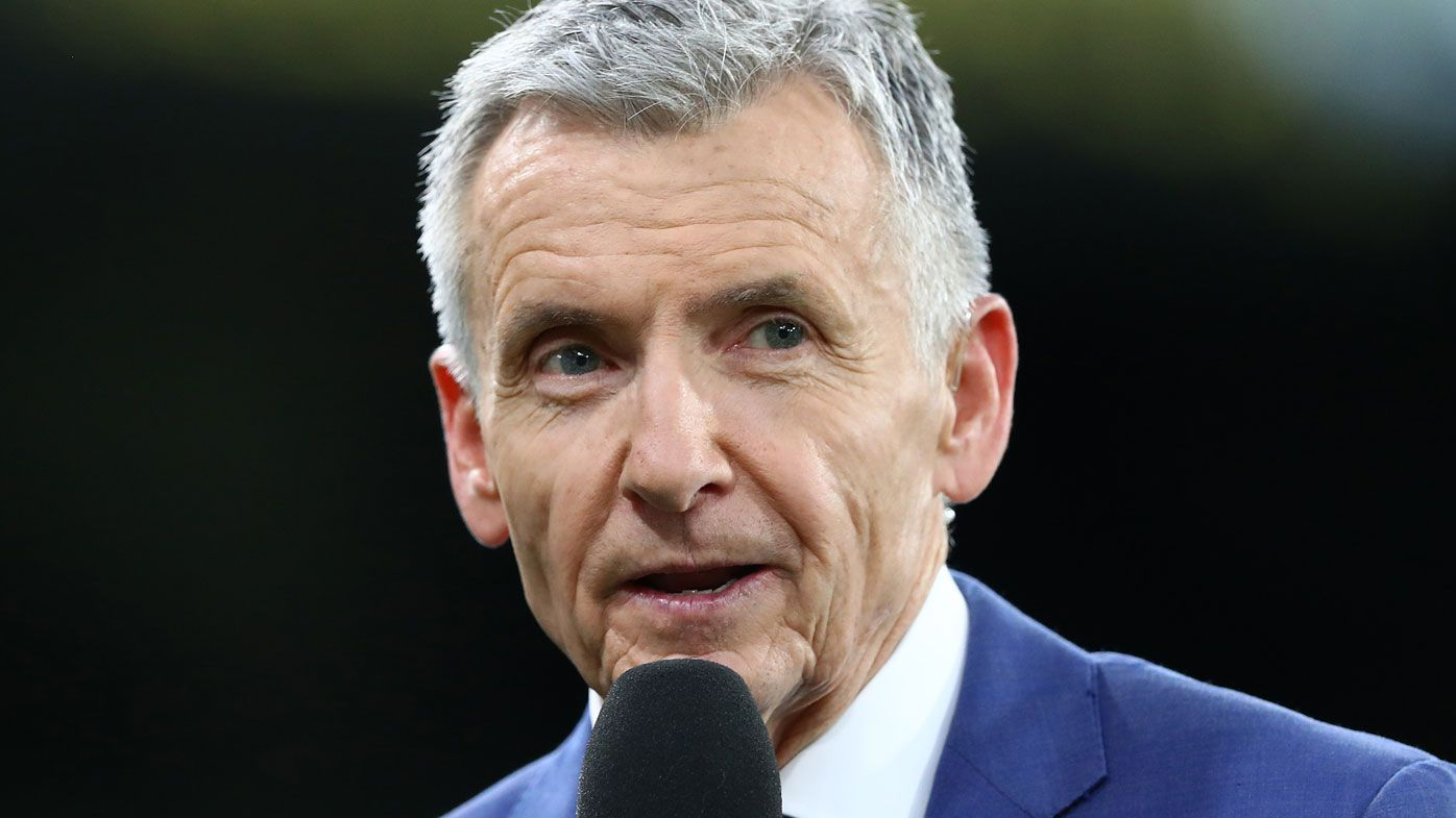 Legendary commentator Bruce McAvaney apologises for Jordan De Goey 'hiccup' comment