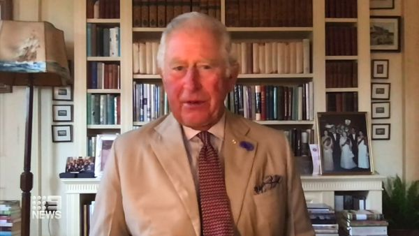 Coronavirus: Prince Charles sends message of hope to Victorians