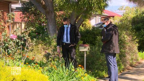Adelaide man woken to stabbing victim on front porch