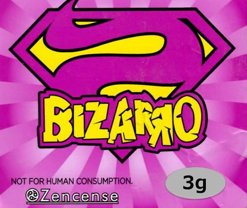 "Bizarro was marketed as ""herbal incense"" and marked as ""not for human consumption"" but was a popular, smokeable synthetic cannabis product."
