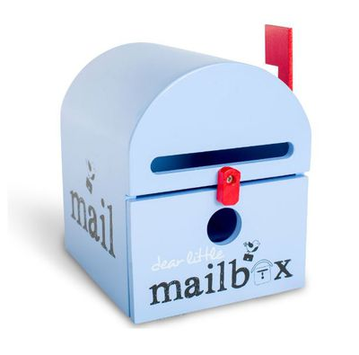 This darling little mailbox is designed for kids to send notes to Nanna - but we want it for family reminders and love notes too!