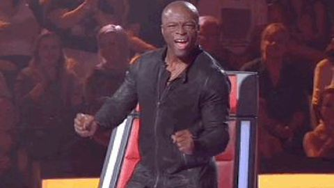 Watch: Seal's wiggly <i>Voice</i> dancing goes viral in a night of surprises