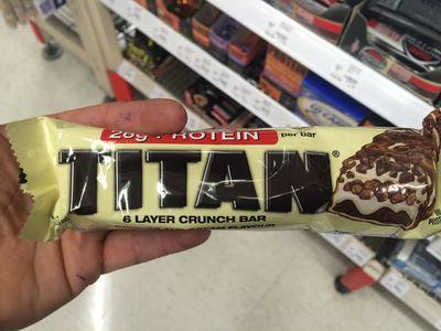 <strong>Titan Protein Bar</strong>