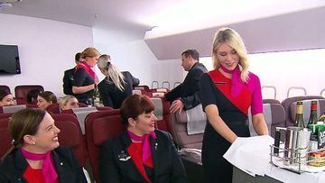 What does it take to be part of Qantas' cabin crew?