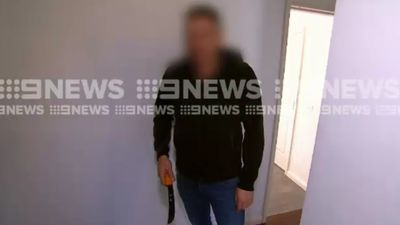 Melbourne homeowner chases out would-be robbers with knife