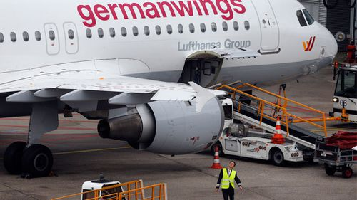 A Germanwings plane on the tarmac. (AAP)