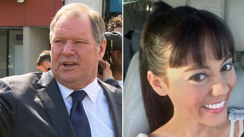 Former City of Melbourne Councillor Tessa Sullivan (left) was the first woman to make a complaint about Robert Doyle's behaviour. (AAP/Twitter)