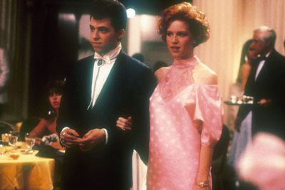 Can a poor girl get the rich, preppy boy, and leave behind her geeky childhood sweetheart? These are the pressing questions in John Hughes' outstanding <i>Pretty in Pink</i>, starring Molly Ringwald, Andrew McCarthy and <i>Two and a Half Men</i>'s Jon Cryer (see how young he looked!).